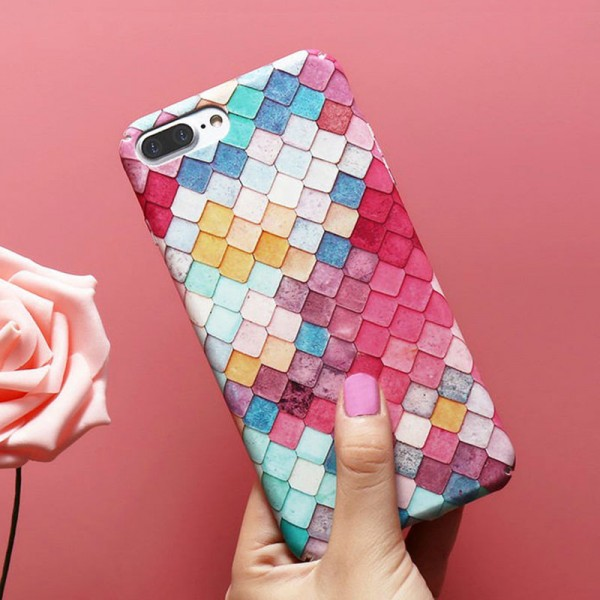 Colorful Scale iPhone Case