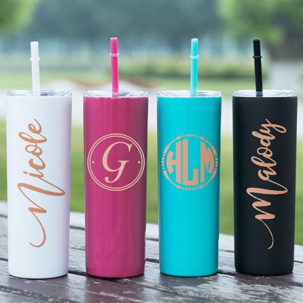 Personalized Bridesmaid Cup