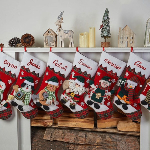 2018 personalized Christmas Stockings