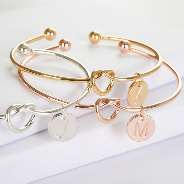 Personalized Bridesmaid Bracelet