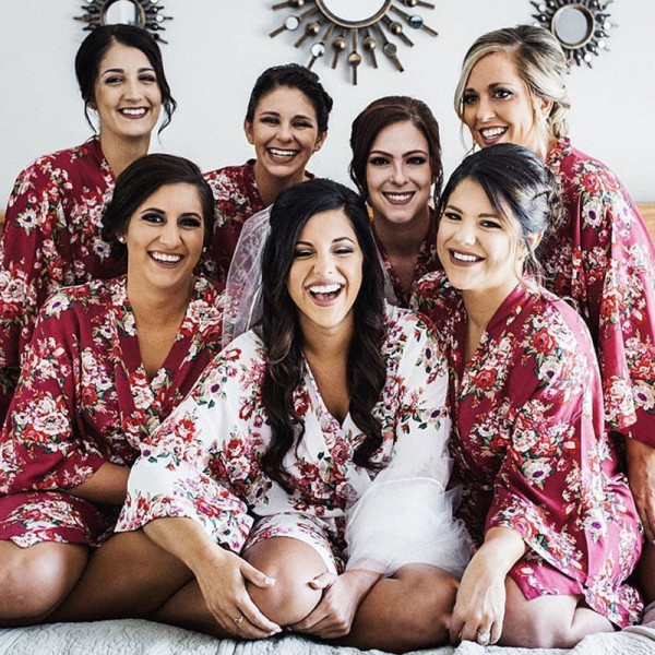 Sale! Print Bridesmaid Robes