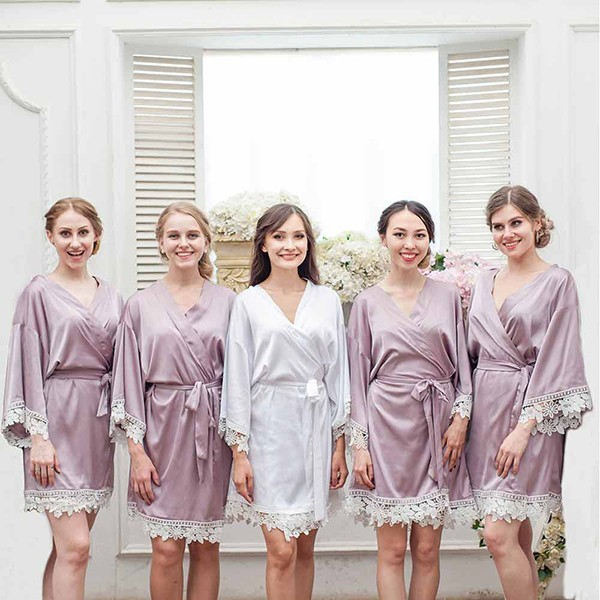 personalized Embroidery Bridesmaid Robe