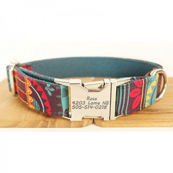 Maya Design Dog Collar
