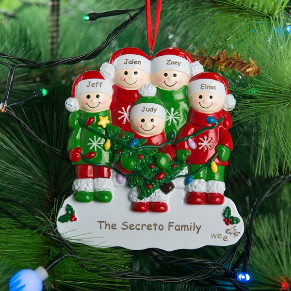 Family Christmas Ornament