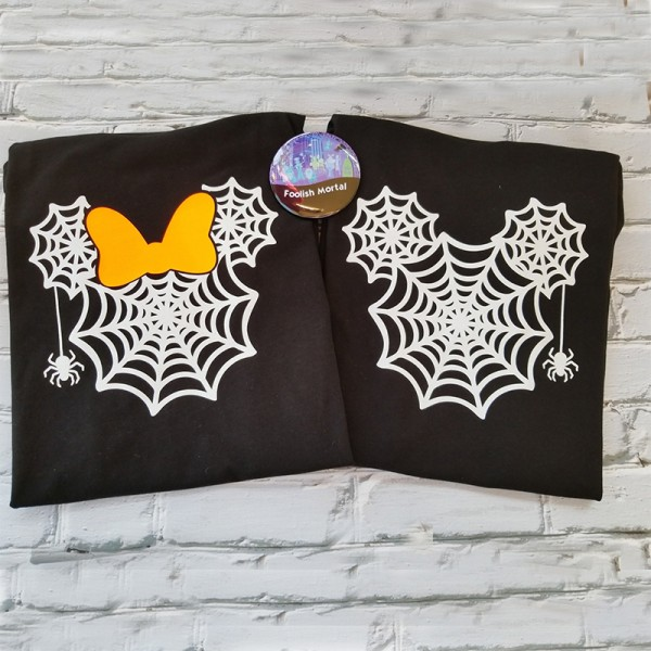 Mickey or Minnie Not So Scary Halloween Party Shirt