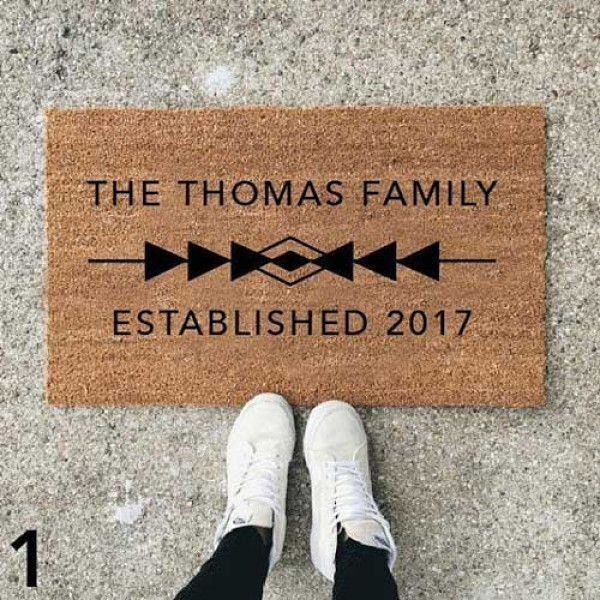 Personalized Outdoor Door Mats