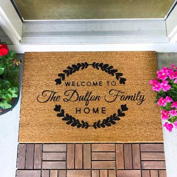 Personalized Door Mats Personalizedcart Com