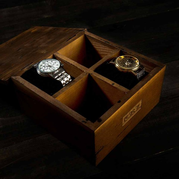 Wood Watch Box