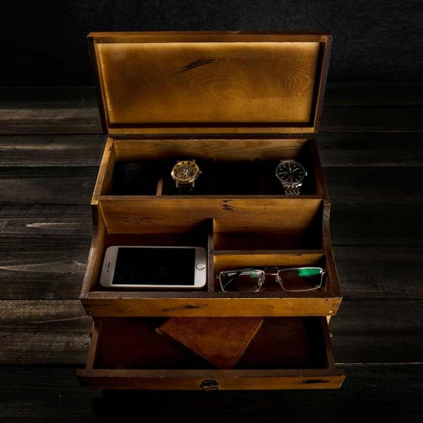 Engraved Watch Box