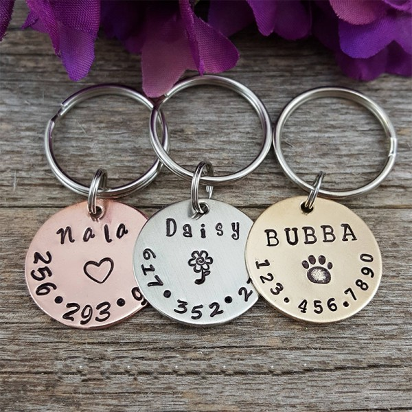 Dog & Cat Name Tag