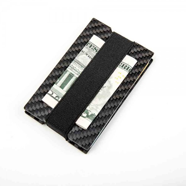 Engraved Carbon Fiber Wallet