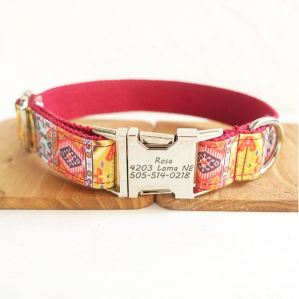 Red Dog Design Collar