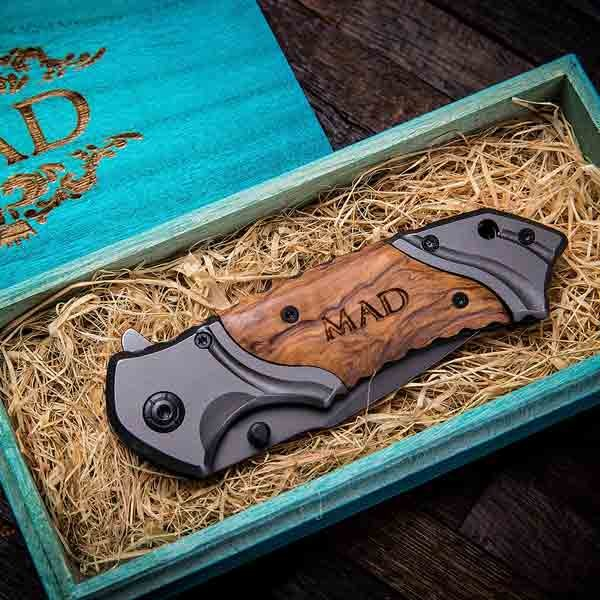 Wood Rescue Pocket Knife