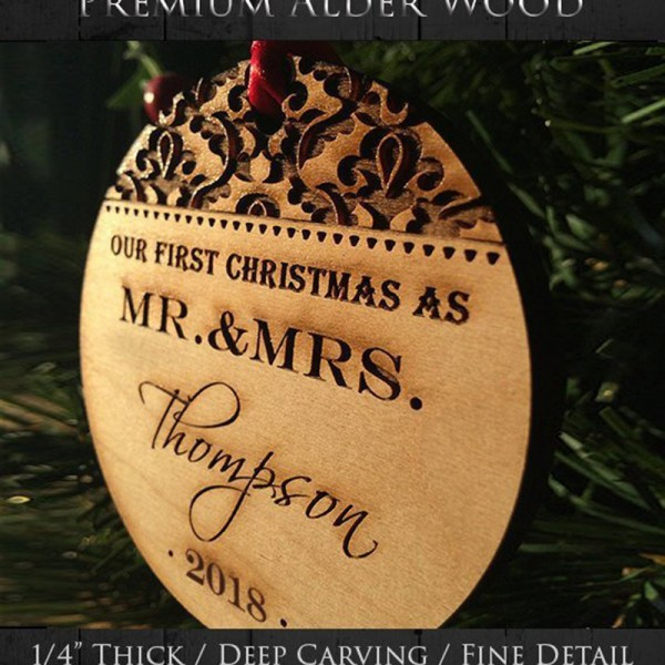 Christmas Ornaments Wedding Gift