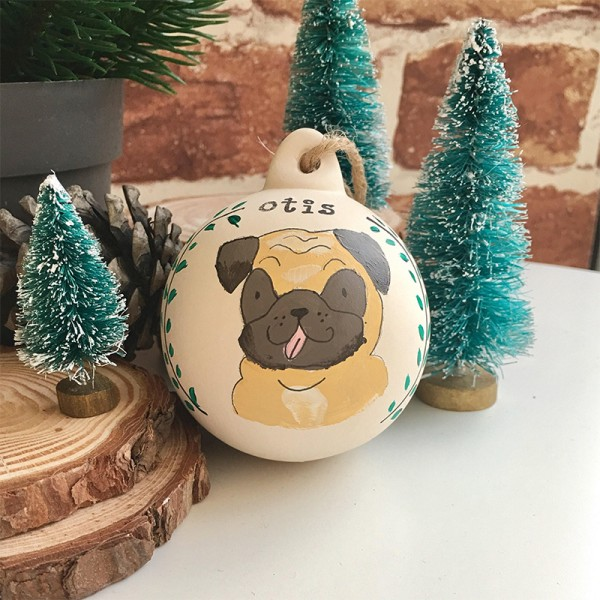 Dog Christmas Decoration