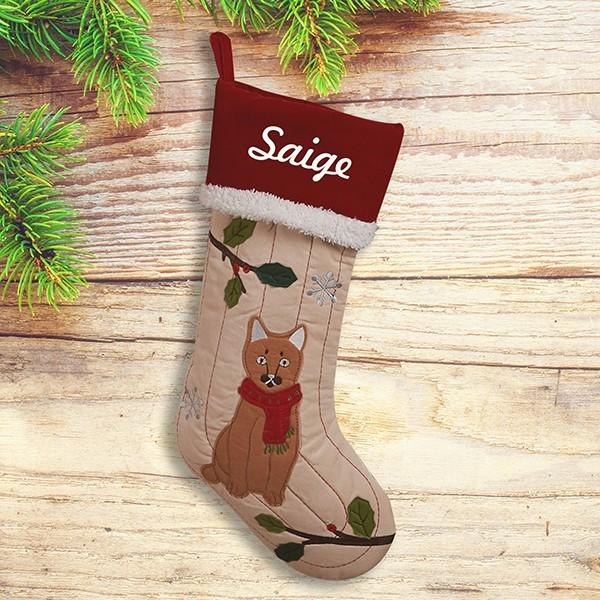 Personalized Family Christmas Stocking