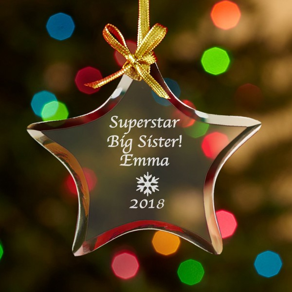 Superstar Christmas Ornament