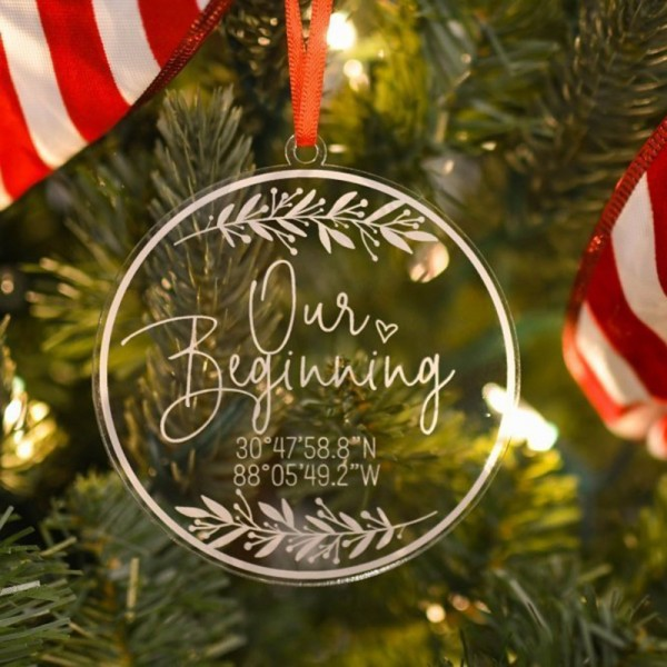 Coordinates Christmas Ornament