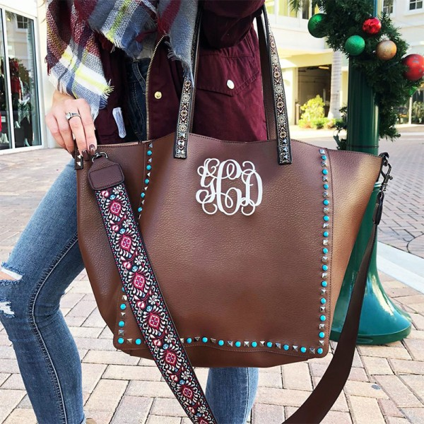Monogram Guitar Strap Handbag