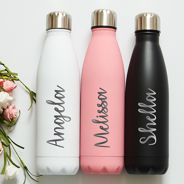 Double-layer vacuum sealing bottle