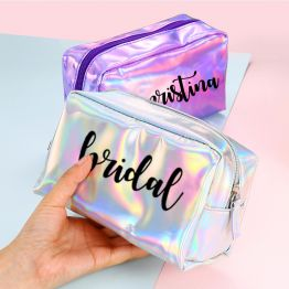 Personalized PU Cosmetic Bag