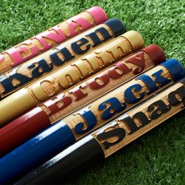 Personalized Engraved Mini Baseball Bat
