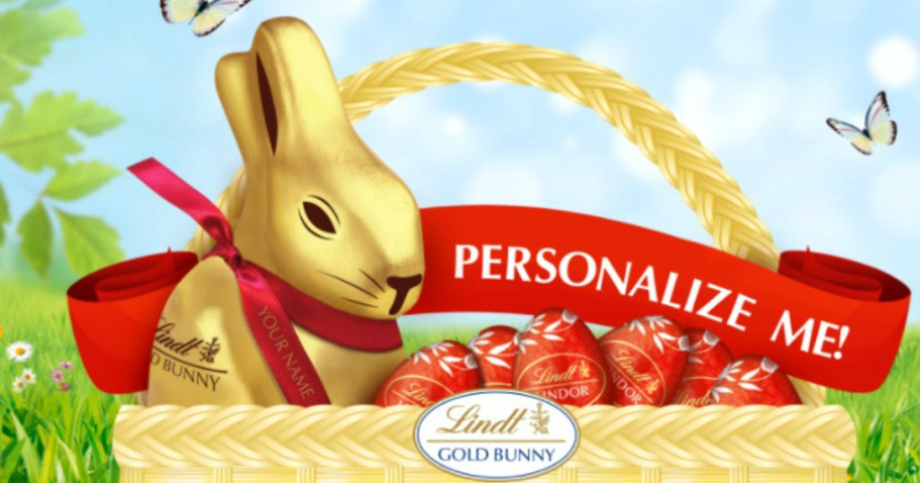 Personalized Easter Message Bunny